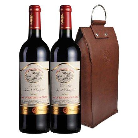 法国木桐夏嘉城堡干红葡萄酒双支皮袋装