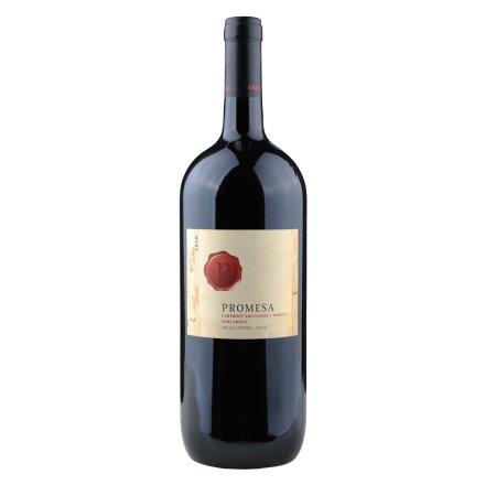 【清仓】智利普罗米萨混酿赤霞珠/美乐半甜红葡萄酒1500ml