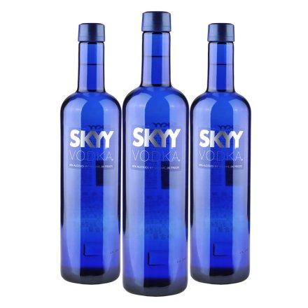 40°美国深蓝伏特加750ml(3瓶装)