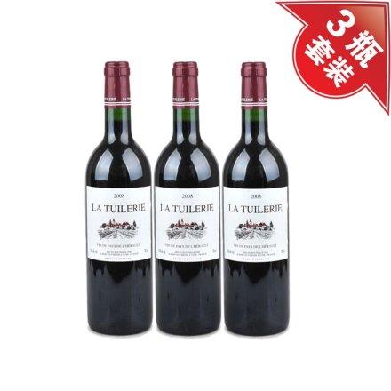 (清仓)法国诺丽宫干红葡萄酒(3瓶装)