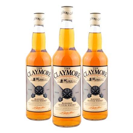 40°英国剑威苏格兰威士忌700ml(3瓶装)