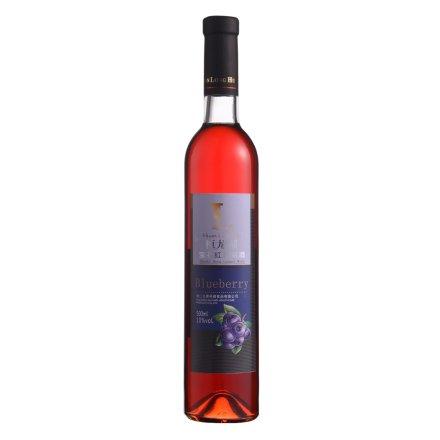 10°桓龙湖宝石红蓝莓酒500ml
