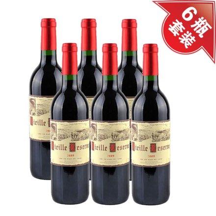 法国威拉珍藏干红葡萄酒(6瓶装)