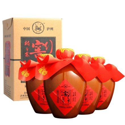 52°泸州老窖坛(老陈醉)500ml(4瓶装)