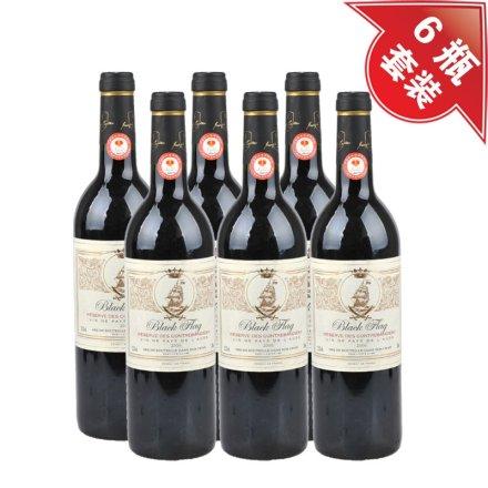 (清仓)法国黑骑士干红葡萄酒(6瓶装)