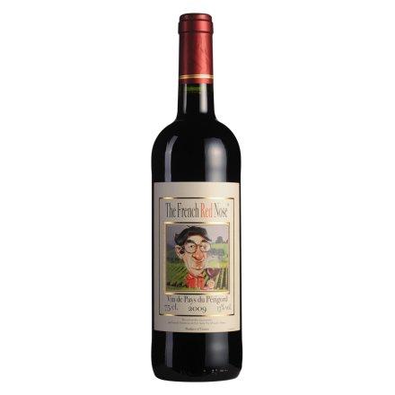 法国红鼻子干红葡萄酒750ml