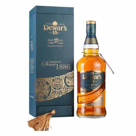 40°英国帝王15年调配苏格兰威士忌礼盒装700ml