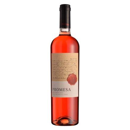 智利普罗米萨精选单一西拉子桃红葡萄酒750ml