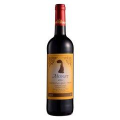 【清仓】法国莫奈红葡萄酒750ml