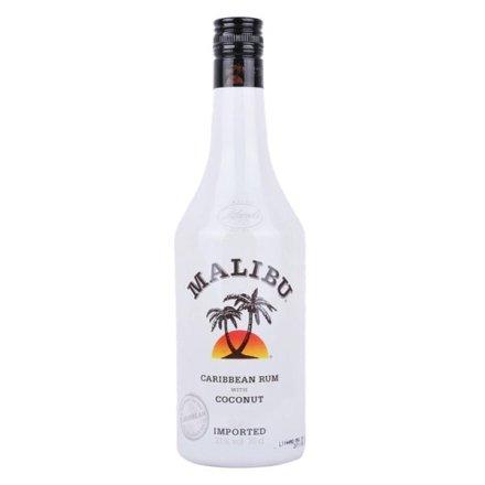 21°西班牙马利宝加勒比椰子朗姆配制酒700ml