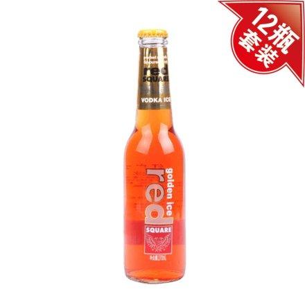 红广场金冰预调酒麦芽糖桔子味270ml(12瓶装)