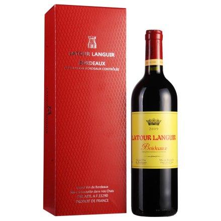 【清仓】法国拉图兰爵皇冠干红葡萄酒750ml