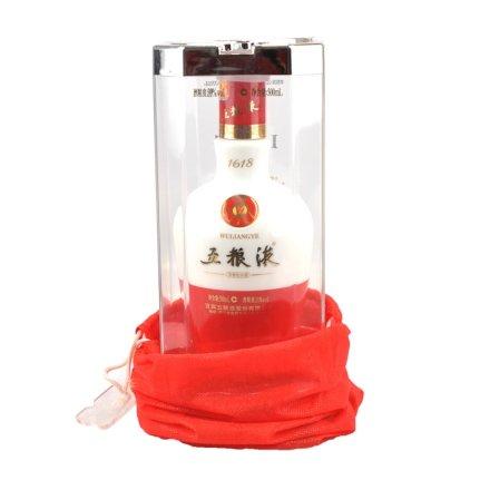 【老酒特卖】39°五粮液1618   500ml(2012年)