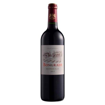 【清仓】法国邦格拉德干红葡萄酒750ml