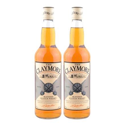 剑威苏格兰威士忌 双瓶