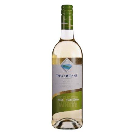 【清仓】南非双洋清爽果香白葡萄酒