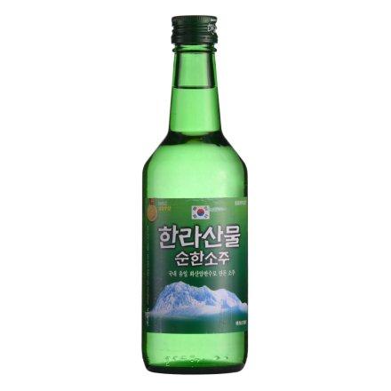 19°韩国汉拿山淡味烧酒360ml