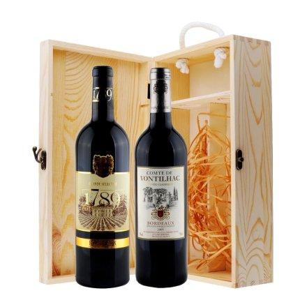 大展鸿猷法国城堡级红酒礼盒