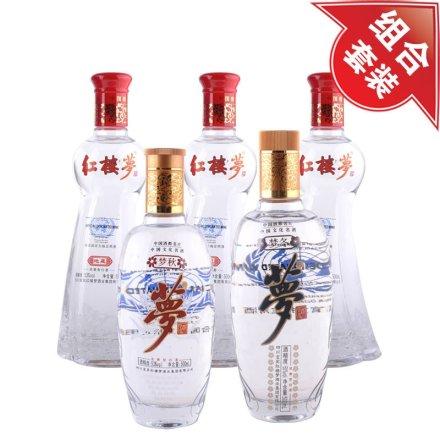 红楼梦地藏酒(3瓶)+梦酒(秋)+梦酒(冬)