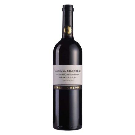 【清仓】罗马尼亚湖西酒庄阳光城堡系列黑姑娘干红葡萄酒(2010)750ml