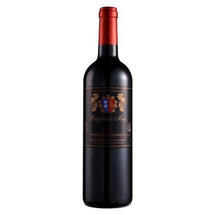 法国国王花传奇波尔多干红葡萄酒750ml
