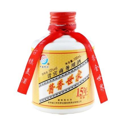 53°贵州酱香世家15年100ml