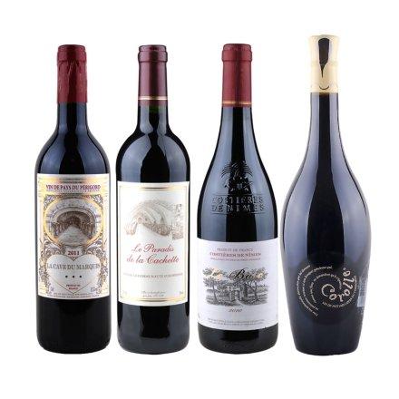 红酒销冠(4瓶装)