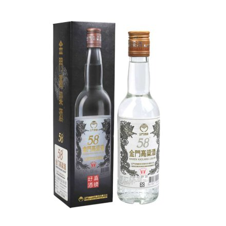 (2013年 老酒)58°金门高粱小白金龙300ml