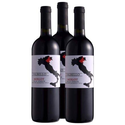 意大利瓦贝罗2011红葡萄酒750ml(3瓶装)