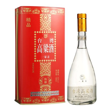 【清仓】52°特泉台湾高粱酒一家亲500ml