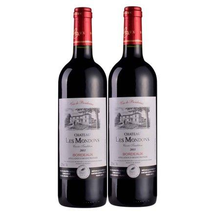法国圣堡兰帝梦桐斯酒庄葡萄酒750ml (双瓶装)