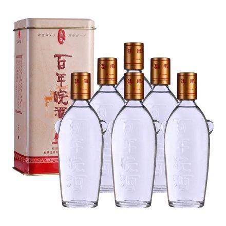 45°百年皖酒五年125ml(6瓶装)