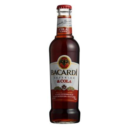 5.5°百加得绝+朗姆预调酒系列可乐味275ml(乐享)