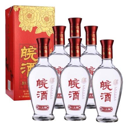 42°皖酒红淡雅500ml(6瓶装)