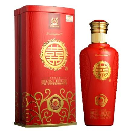 52°泸州老窖双喜酒(A9) 500ml
