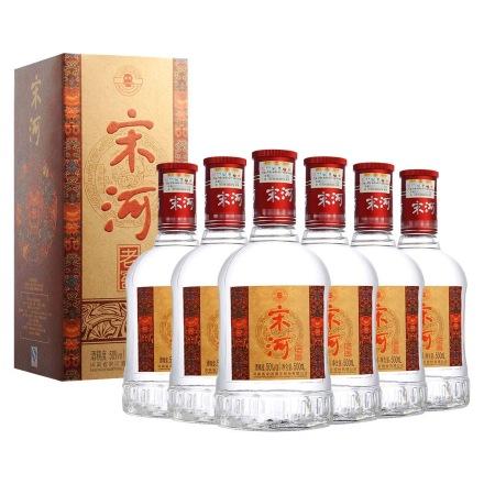 50°宋河老窖500ml(6瓶装)