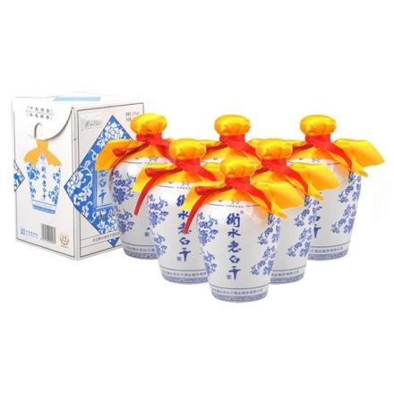 67°衡水老白干蓝花瓷750ml(6瓶装)