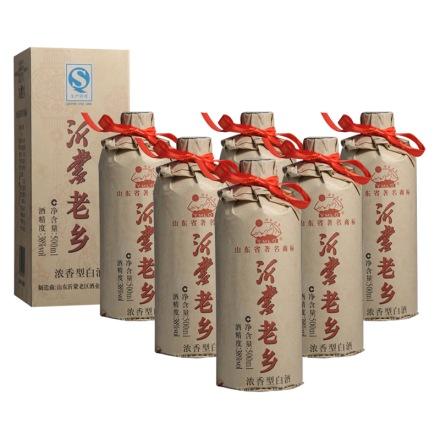 38°沂蒙老乡500ml(6瓶装)