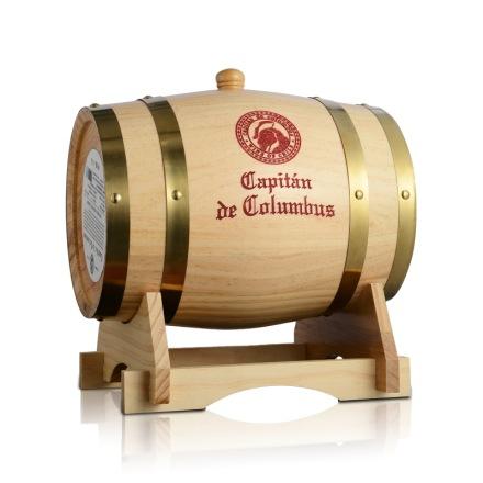 智利哥伦布船长橡木桶装干红葡萄酒3.75升