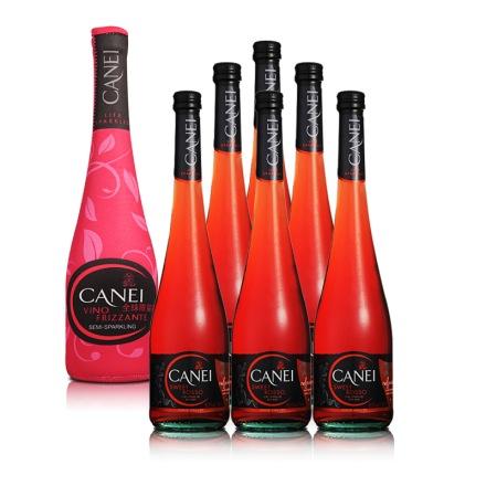 意大利圣霞多·肯爱低泡红葡萄酒冰袋装750ml(全球限量版)(6瓶装)