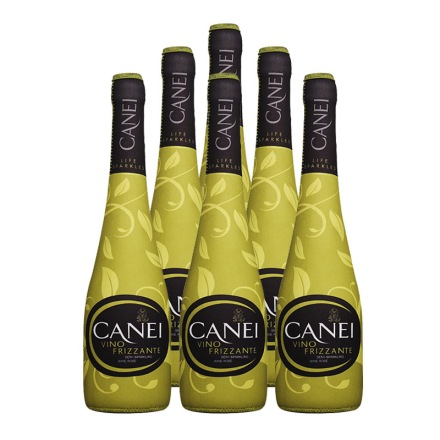 意大利肯爱Canei低泡白半甜微起泡葡萄酒 750ml冰袋装(6瓶装)