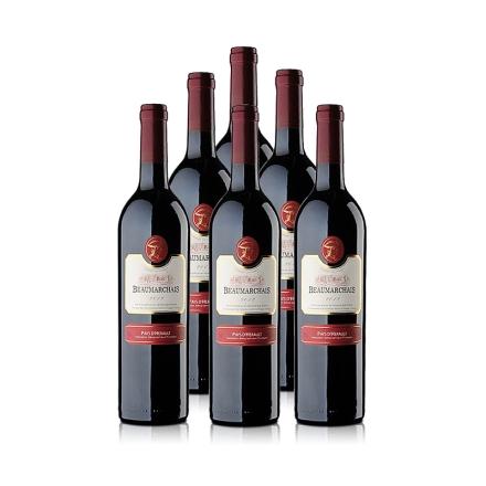 法国博玛干红葡萄酒750ml(6瓶装)