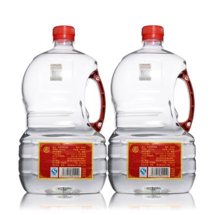 60°洞宝纯粮酿造原浆清香型白酒2.5L(双桶装)