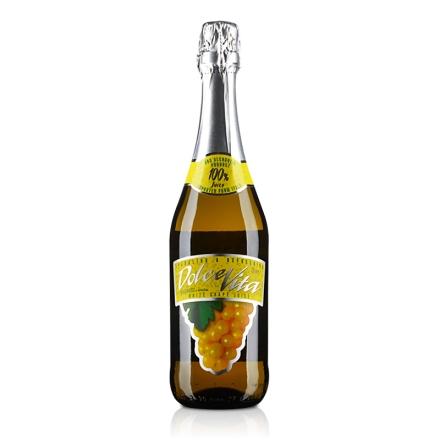 意大利多唯无醇白起泡葡萄汁750ml