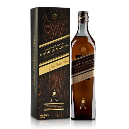 【品质红酒节】40°英国尊尼获加黑方(醇黑)威士忌700ml