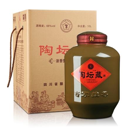 68°陶坛藏华明古窖收藏酒10000ml