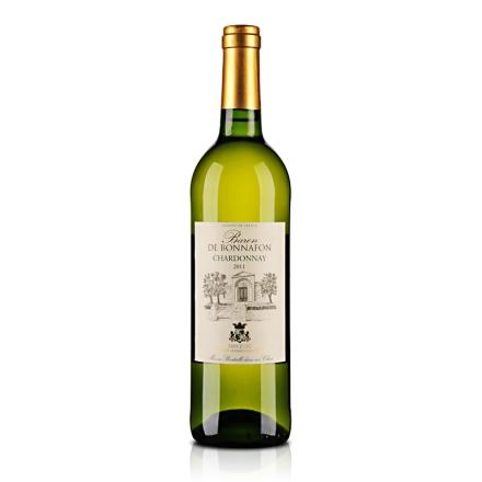 【清仓】法国博纳霞多丽干白葡萄酒750ml