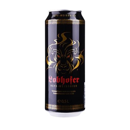 【清仓】德国欢伯瑞狮小麦白啤酒500ml