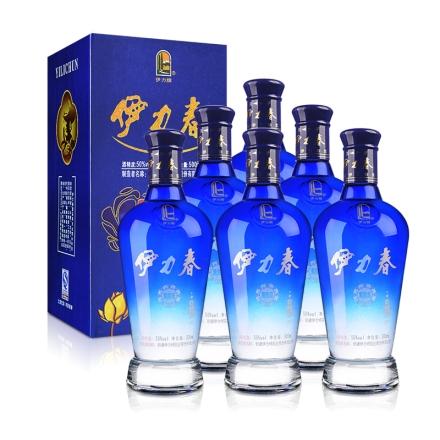 50°伊力春(蓝钻石)500ml(6瓶装)