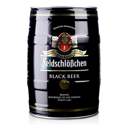 【清仓】5°德国费尔德堡黑啤酒5L